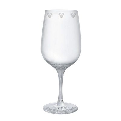 Minnie Mouse Icon Wine Glass