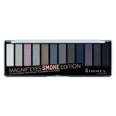 Rimmel Magnif'eyes Eyeshadow Palette, Smoke