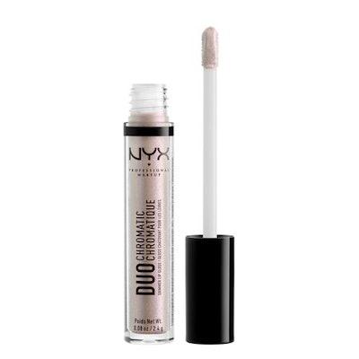NYX Professional Makeup Duo Chromatic Lip Gloss, Crushing It