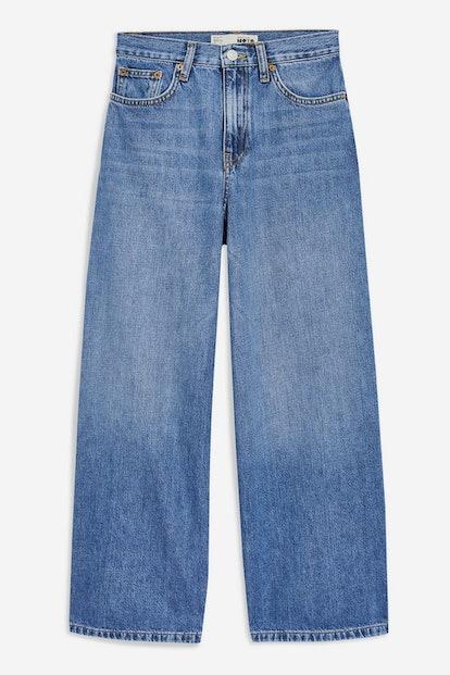 Light Blue Wide Leg Jeans