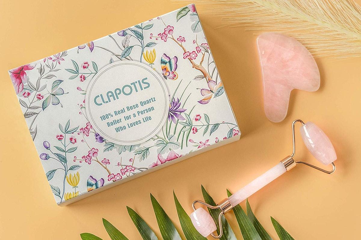 Clapotis Rose Quartz Roller
