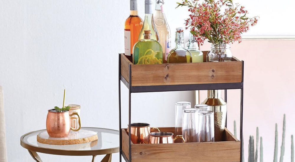 10 Bar Carts Under 100 For Every Decor Aesthetic