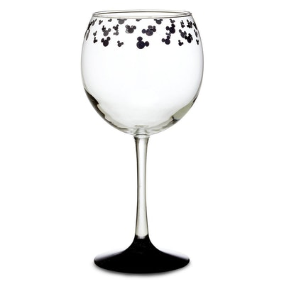 Mickey Mouse Stemmed Wine Glass