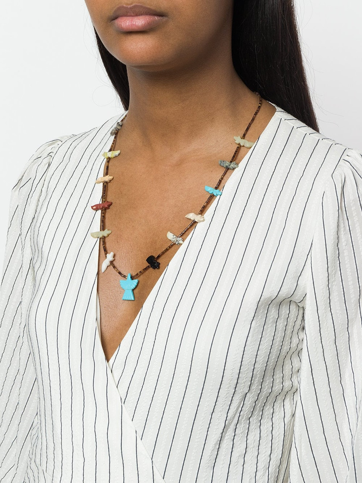 Beaded Bear Necklace