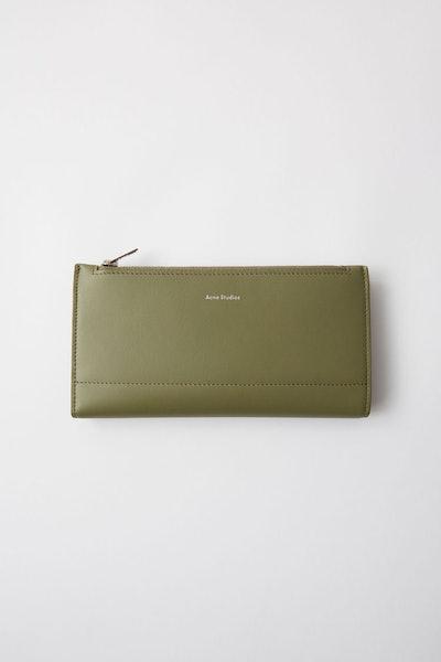 Continental Fold Wallet Dark Green