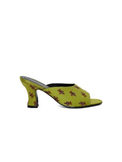 Naomi Embroidered Heel