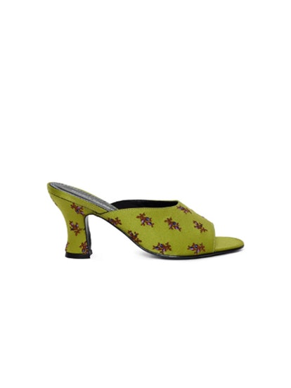 Naomi Embroidered Heel