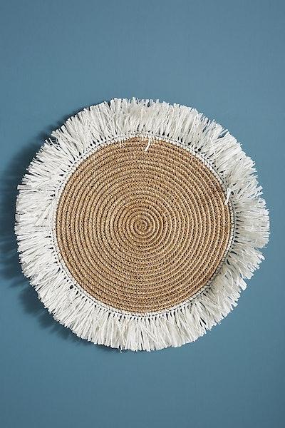 Fringed Basket Wall Art