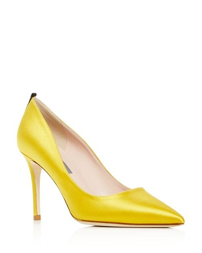 Women's Fawn Pointed-Toe High-Heel Pumps