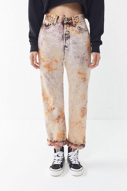 Vintage Levi's Tie-Dye Straight Leg Jean