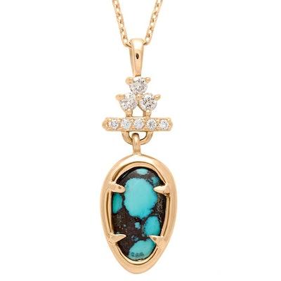 Bloom Pear Drop Necklace