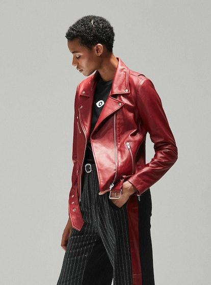 Jayne Smooth Jacket Crimson