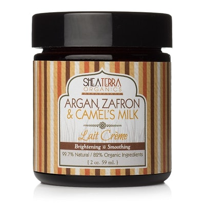 Argan, Zafron & Camel's Milk Brightening Lait Creme