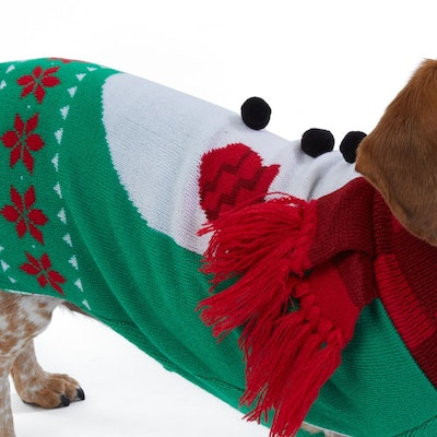 Merry and Bright Dog Holiday Sweater