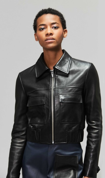Jack Leather Jacket Black