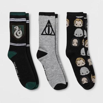 Slytherin Crew Casual Socks