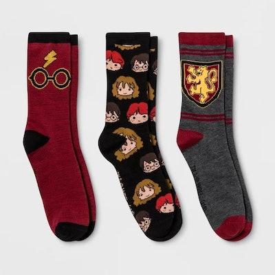 Gryffindor Crew Casual Socks