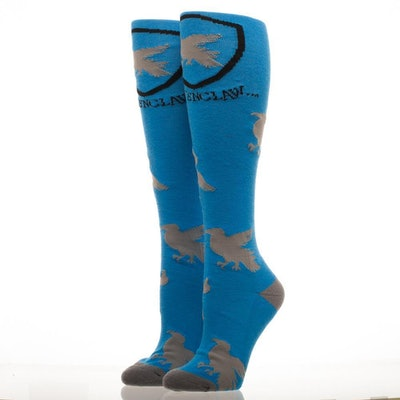 Ravenclaw Crest Knee High Socks