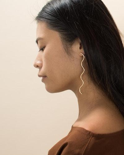 Lia Squiggle Earrings