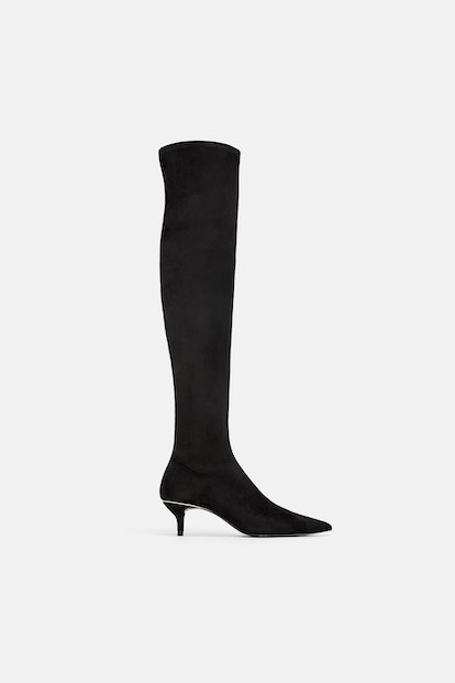 THIN HEEL OVER-THE-KNEE BOOTS