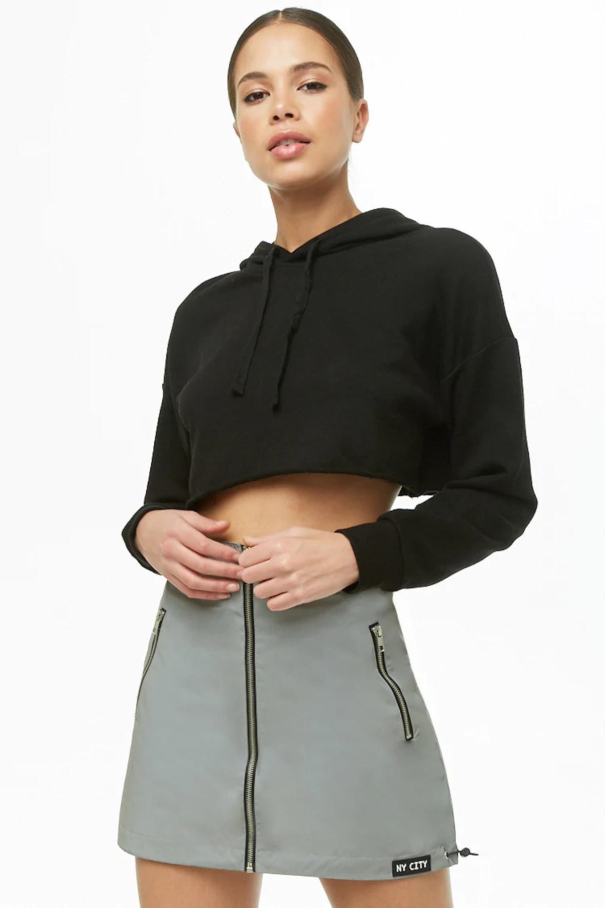 NY City Patch Reflective Skirt