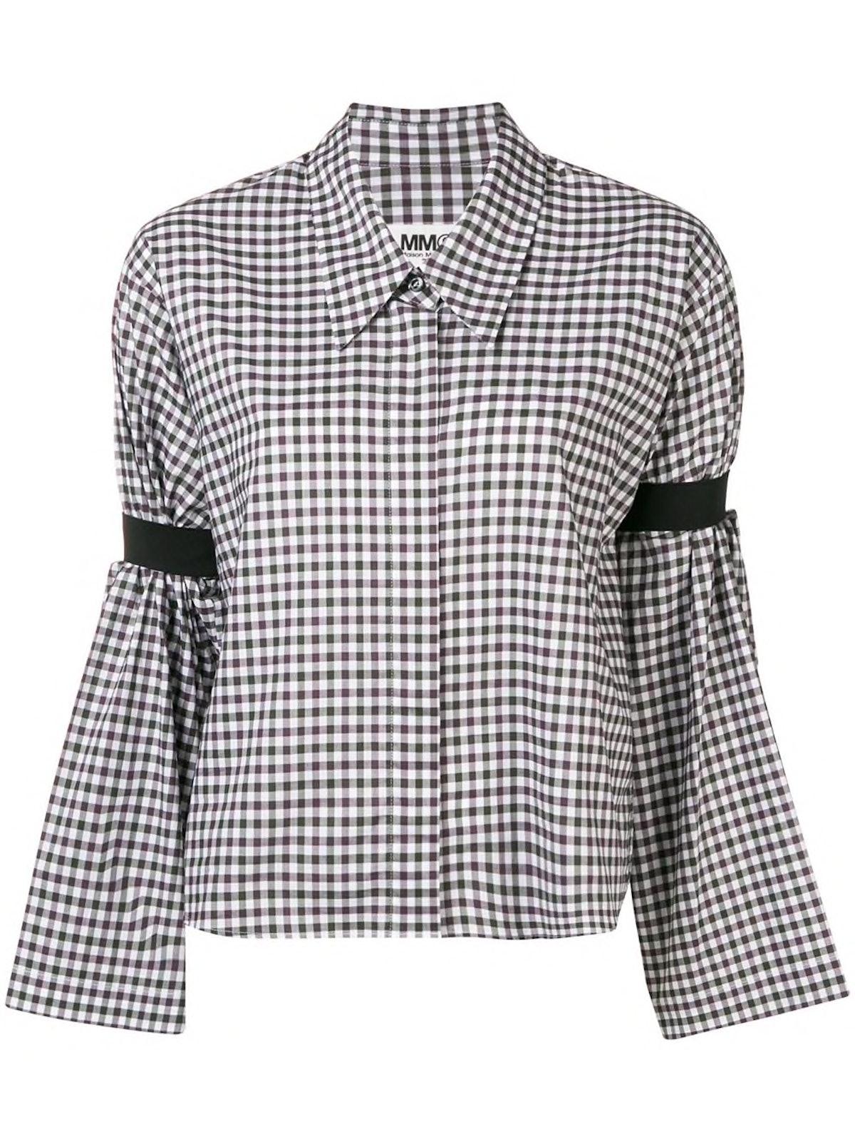 Gingham-Print Shirt