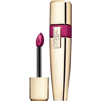 L'Oréal Paris Colour Caresse Wet Shine Lip Stain Berry Persistent 0.21 Ounces