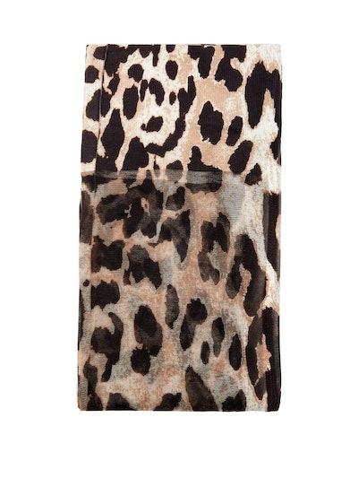 Leopard-Print Tights