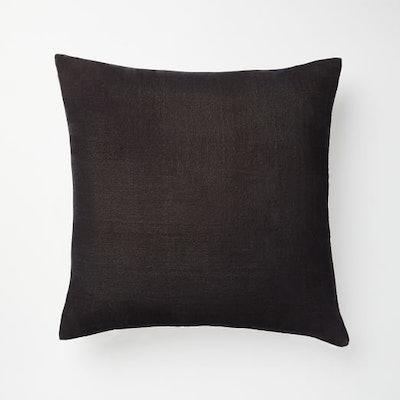 Lush Velvet Pillow Covers, Slate