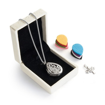 Teardrop Aromatherapy Diffuser Necklace