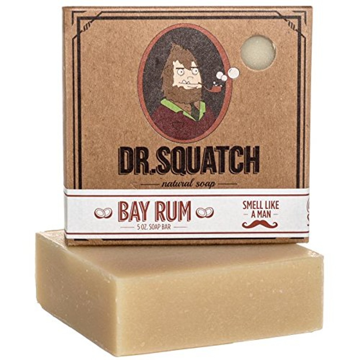Bay Rum Soap by Dr. Squatch