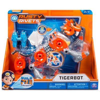 Rusty Rivets Tiger Bot Build