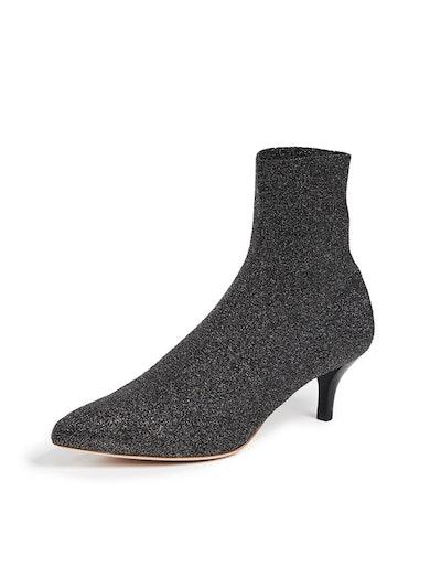 Kassidy Stretch Low Heel Booties