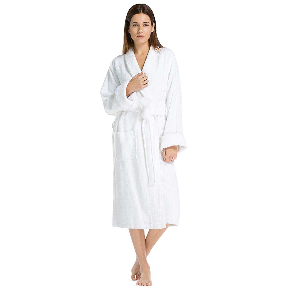 Fishers Finery Women's Terry Spa Robe
