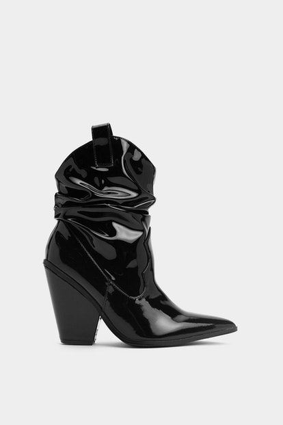 Ruched for Time Western Boot