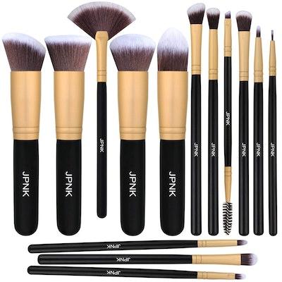 JPNK Makeup Brush Set (12 Pieces)