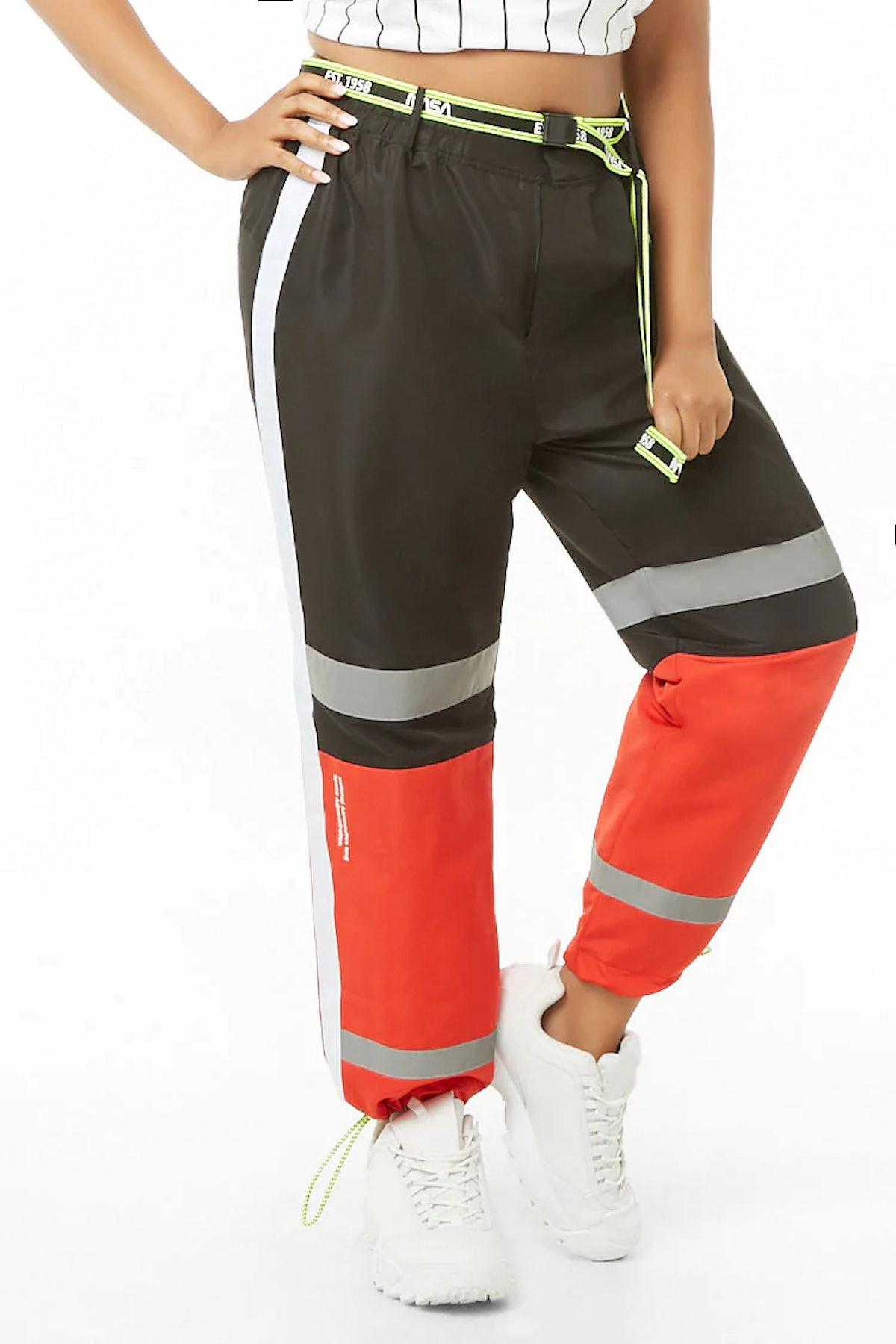 Plus Size NASA Wind Pants