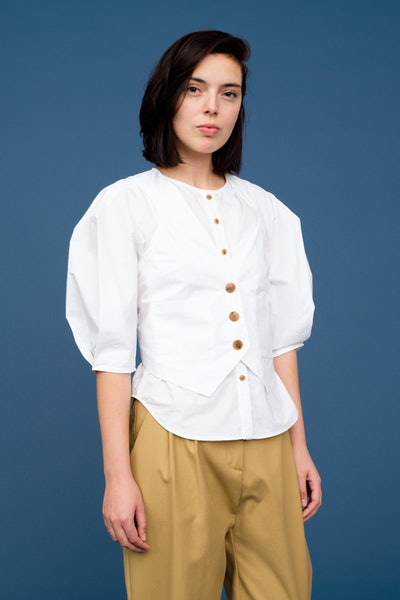 Azzedine Shirt Vest