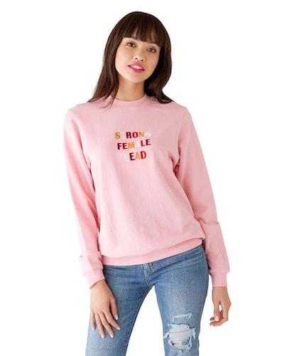 Ban.Do x Realm Strong Female Lead Sweatshirt - Pink