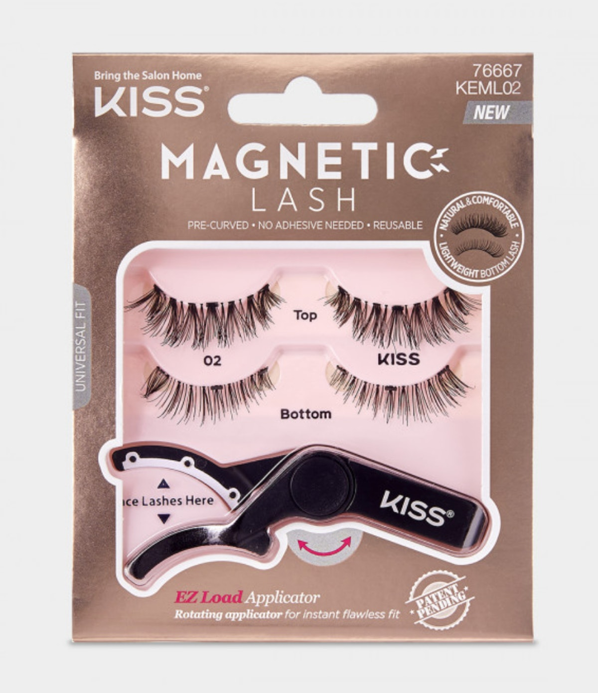 "KISS Magnetic Strip Lash in ""02"""
