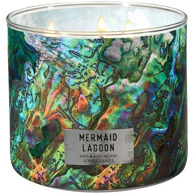 Bath and Body Works Mermaid Lagoon 3-Wick Candle