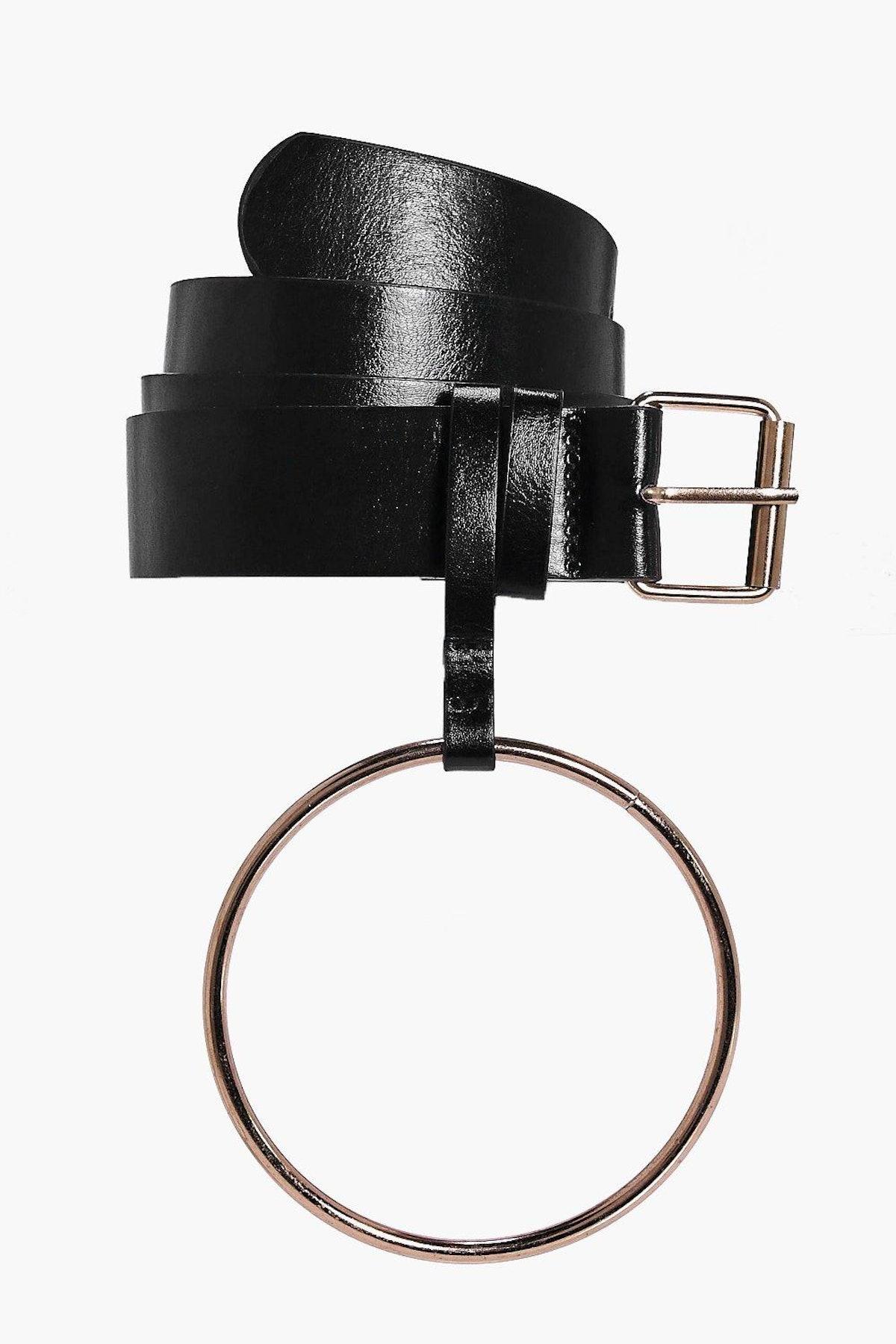 Oversized Loop Detail Belt