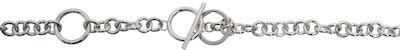 Silver Chain Link Belt