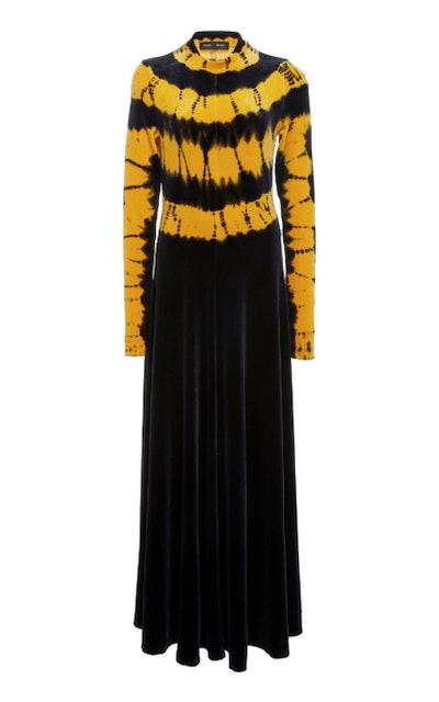 Tie-Dye Long Sleeve Dress
