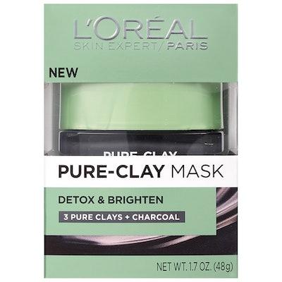 L'Oreal Paris Pure-Clay Mask Detox & Brighten