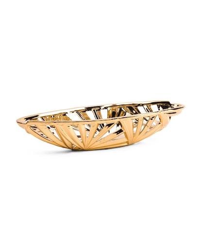 Three Hands Ceramic Pierced Bowl