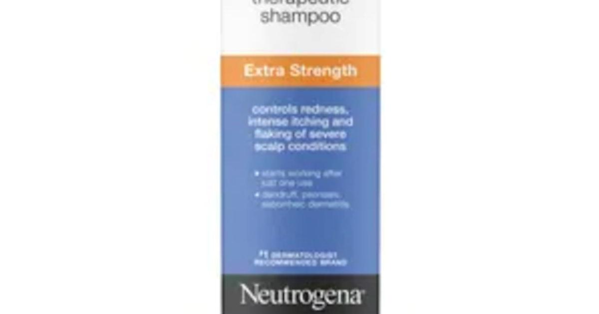 Neutrogena T/Gel Therapeutic Shampoo Extra Strength