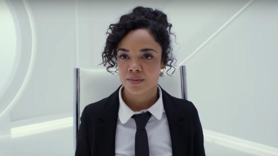 The Men In Black International Trailer Stars Tessa Thompson As