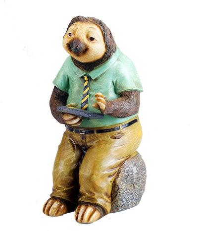 Sloth with Solar Lights Garden House Outdoor Decor by Bo Toys