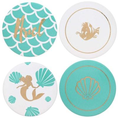 Little Mermaid Princess Ariel Themed Coaster Set